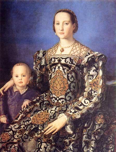 Eleonora di Toledo Quadro Eleonora di Toledo 1522-1562