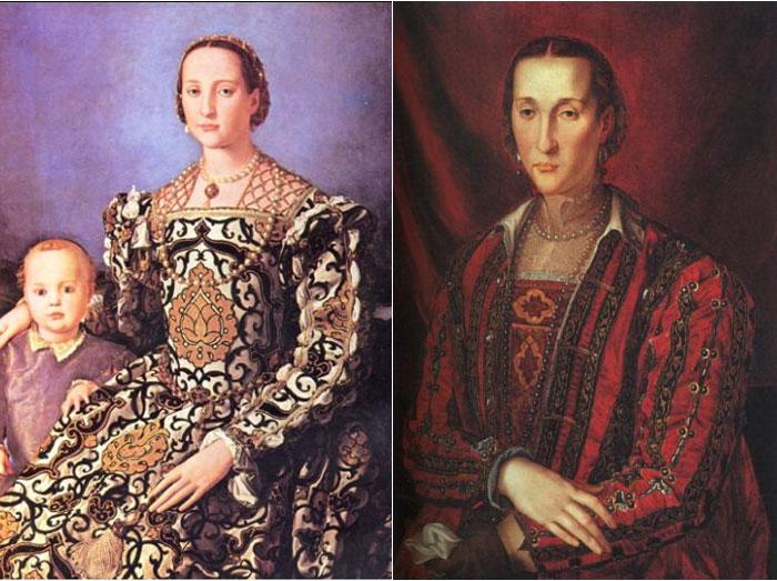 Fig.1 - Ritratti del Bronzino di Eleonora di Toledo ce8481cf55b1