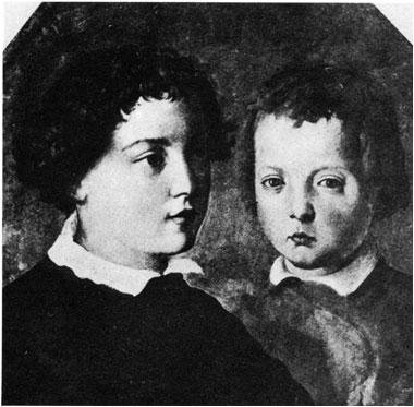 Fig.2 - Ritratto del Cardinale Giovanni e di Don Garzia (Vasari 38f2f3d8d114